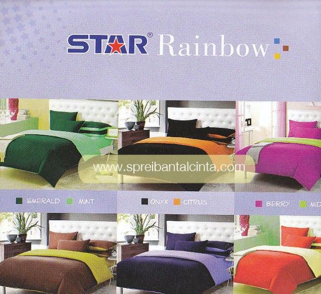 Toko Sprei Star Pelangi, Toko Sprei Polos Rainbow, Grosir Bedcover Polos, Grosir Sprei Polos, Motif Star, Hafiz Collection, 081212312065
