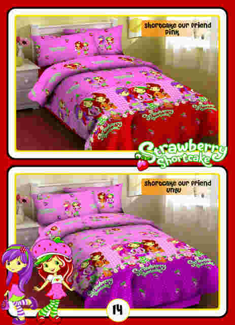 Motif Sprei  fortuna Shortcake our